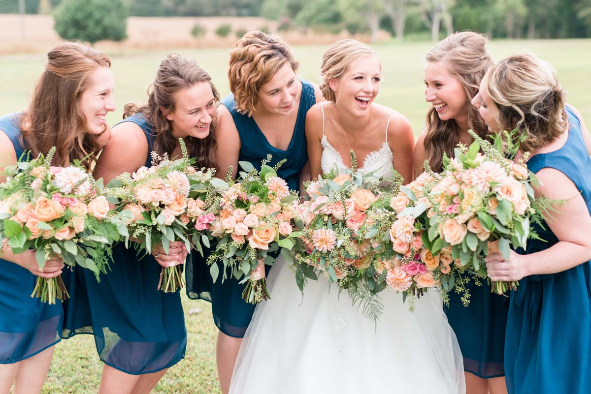 Pretty Bridesmaid wedding bouquets