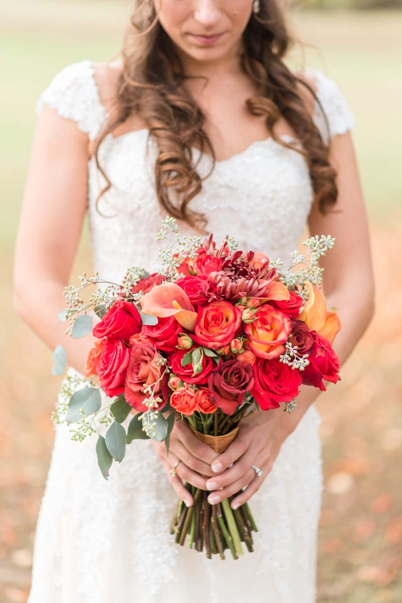 Autumn Wedding Bridal Bouquets